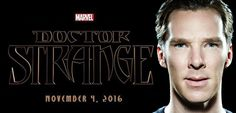 COMICBOOKDOTCOM (April 11, 2015) ~ Benedict Cumberbatch's DR. STRANGE will start filming in November 2015 for a November 2016 release. [Click for article]