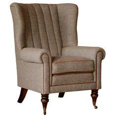 The Tetrad Harris Tweed Dunmore Chair   British Harris Tweed Furniture