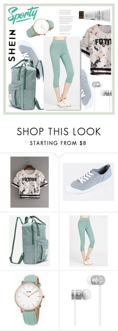 """""""SHEIN 8"""" by aidaaa1992 ❤ liked on Polyvore featuring CLUSE and Beats by Dr. Dre"""