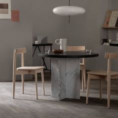 Crafted with a comfortable dish seat and a solid curved backrest, the chair is also stackable for storage when not in use. #AplusR #moderndesign #interiordesign #modernchair #woodenchair #diningroomideas #diningroomchair #Lercolani