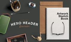 Free Hero / Header Scene MockUp (253.5 MB)   GraphicBurger   #free #photoshop #mockup