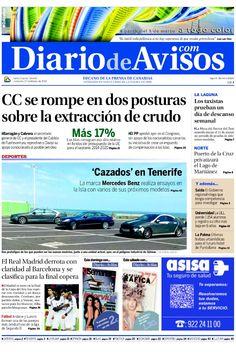 Nuestra portada de hoy 27 de febrero de 2013