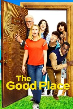 Good Place Season 3 Poster: Eleanor and the Gang Come Back Down to Earth The Good Place Season 3 Poster Full Kristen Bell, Prison Break, Agatha Christie, The Good Place Episodes, The Good Place Netflix, Best Tv Shows, Movies And Tv Shows, Manny Jacinto, Films Netflix