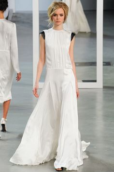 Various elements of this look could work independently or combined with other pieces, and of course it's lovely as is.  Derek Lam