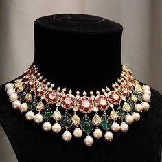 New ideas jewerly diamond indian design Indian Wedding Jewelry, Bridal Jewelry, Silver Jewelry, Indian Bridal, Clay Jewelry, Silver Ring, India Jewelry, Jewelry Sets, Fashion Jewellery Online