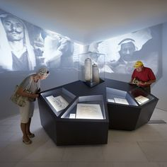The Dead Sea Scrolls client: Drents Museum: Projections on walls