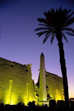 Obelisk at Luxor Temple