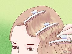 Step by step how to style a 1930's Finger Wave Hairstyle