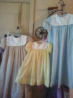 Little girl's dresses I made