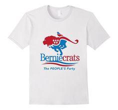 Amazon.com: Berniecrats Shirt Bernie Sanders Birdie Lion Bird Democrat: Clothing