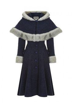 Collectif Vintage Anoushka Princess Coat & Cape