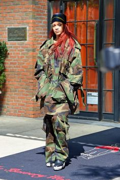 Rihanna leaving the Bowery hotel in New York