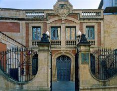 Fachada norte del Museo Art Nouveau y Art Déco Casa Lis. Fotografía: Imagen M.A.S. Salamanca