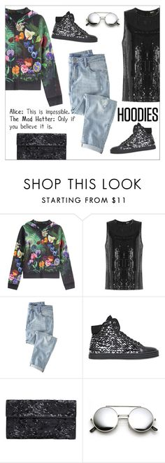 """""""Winter Layering: Hot Hoodies"""" by danielle-487 ❤ liked on Polyvore featuring Marc by Marc Jacobs, DKNY, Wrap, Hogan Rebel, Maison Margiela, women's clothing, women, female, woman and misses"""
