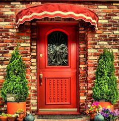"""ellenzee: """" The Red Door"""" """""""