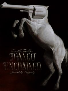 Poster for Django Unchained movie. Django Unchained, My Portfolio, Daily Inspiration, Movies And Tv Shows, Competition, Writer, Movie Posters, Painting, Image