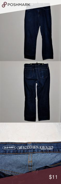 """Old Navy 34 x30 Jeans Men 100% Cotton Old Navy Size 34 x30 Jeans Men 100% Cotton  Machine Wash Overall Length 39"""" Inseam Length 30"""" Old Navy Jeans"""