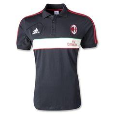Bộ quần áo Ac Milan đen - trắng Polo 12/13 129,000 Vnd