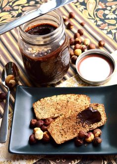 Revamped Nutella on warm and toasty paleo coconut bread Nutella Recipes, Paleo Recipes, Bread Recipes, Dessert Recipes, Desserts, Good Food, Yummy Food, Food Allergies, Low Carb Keto
