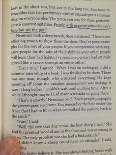 """Just sayin...from """"The way of the shepherd"""" by Leman and Pentak"""