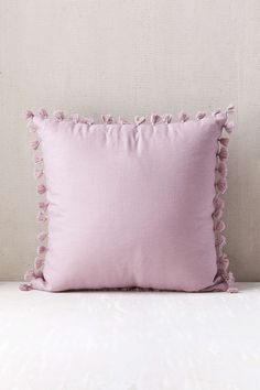 Perfect for a little girls bedroom (or two!) Magical Thinking Avery Tassel Pillow