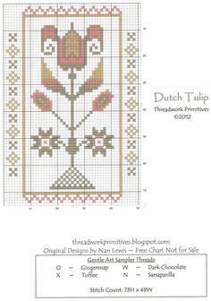 Freebie Dutch Tulip