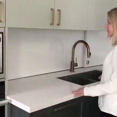 interior design ideas design ideas creative Organized secret kitchen counter space Try You Kitchen Room Design, Home Decor Kitchen, Kitchen Furniture, Home Kitchens, Kitchen Ideas, Modern Kitchen Design, Kitchen Inspiration, Interior Design Kitchen, Küchen Design