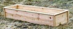 inexpensive cedar fence picket raised beds - more attractive because of the trim, which can easily rip with table saw. garden beds diy cheap cedar fence Cedar Raised Garden Beds made from Fence Pickets - Single Width Cedar Raised Garden Beds, Cedar Garden, Building A Raised Garden, Raised Planter, Raised Beds, Raised Gardens, Fence Garden, Wooden Garden, Small Gardens