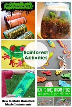 Activities and Printables Rainforest Activities and Printables - My kids are going to love these crafts!Rainforest Activities and Printables - My kids are going to love these crafts! Rainforest Preschool, Rainforest Classroom, Rainforest Crafts, Rainforest Project, Rainforest Habitat, Rainforest Theme, Rainforest Animals, Amazon Rainforest, Rainforest Facts For Kids