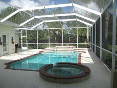 Large Heated Pool & Spa in this Bradenton home in River Club