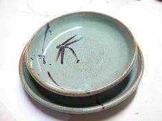 LaPella Art dragonfly plate!  love it!