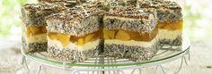 MACZEK Z BRZOSKWINIAMI - idealneciasta.com Tiramisu, Ethnic Recipes, Food, Essen, Meals, Tiramisu Cake, Yemek, Eten