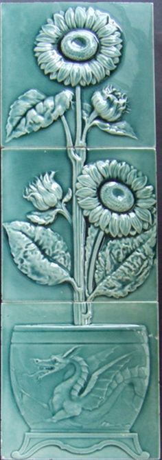 West Side Art Tiles - 4498n364p3 - English Tile