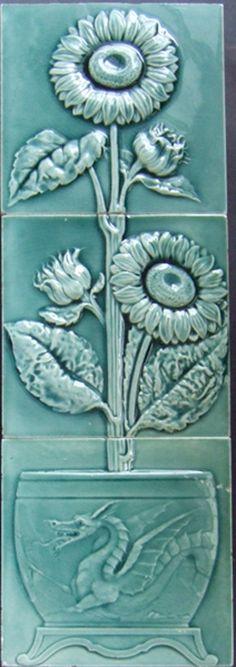 West Side Art Tiles - 4498n364p3 - English Tile