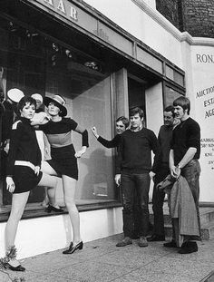 In the 1960s, Fashion and Retail was at its all time high.Quants Bazaar which was a boutique located on Kings Road was very popular as the designer Mary Quant created the new fashion trend of Mini Skirts which sweeped across the nation and still lives on today.  This image is found in Task1- double page imageboard on the 1960s.