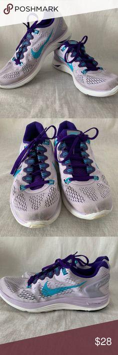 free shipping 2a501 36428 Nike Purple Lunarglide 5 Sneakers Size 8