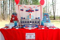 Photo 1 of 29: Trains / Birthday Chugga Chugga Choo Choo for a Little Boy thats Two!! | Catch My Party