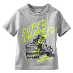 Toddler Girl Outfits, Toddler Boys, Graphic Tees, Mens Tops, T Shirt, Shopping, Clothes, Transportation, Trucks