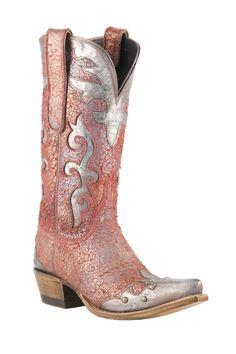 Lucchese Diva boots http://www.horsesandheels.com/2011/12/mondays-cowboy-boots-day/