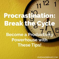 Procrastination - br