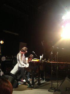 ラストシーン☆ Schroeder-Headz  fox capture plan  ADAM at ピアニスト3人の連弾!!!!! コレは凄いモノ見たぞ 静岡まで来てよかったぁー!!!!! @窓枠