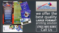 In search for printing services in Las Vegas, Worry not; We are here ......