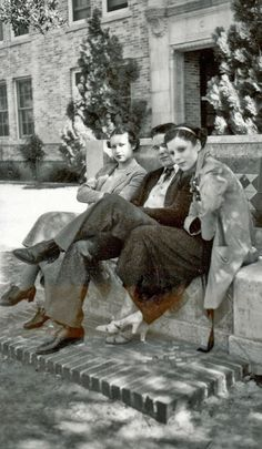 College students, 1930s