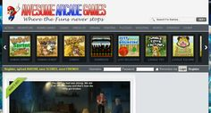 PR1 Huge Arcade Games Portal http://www.AwesomeArcadeGames.org with Bonus - auto updated Facebook Twitter accounts