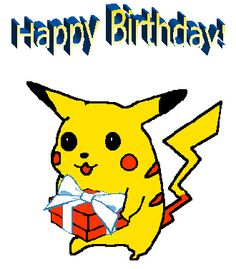 Happy Birthday Pokemon Amanda Card