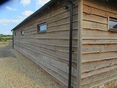 Waney Edge Weatherboard Cladding   Eco Mobile Homes