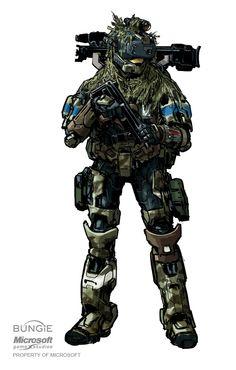 Artista de Halo e Destiny certamente consegue desenhar coisas incríveis