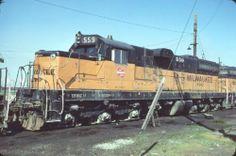 MILW 559 SD 10 Milwaukee Road Original Slide T8 4 | eBay