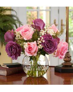 21 best flowers images on pinterest in 2018 beautiful flowers im not sure how i feel about silk flowers yet despite being easier diy silk flower arrangementsrose mightylinksfo