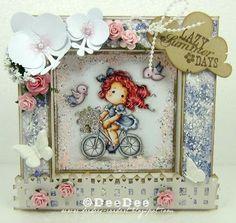 DeeDee´s Card Art: ♥ Frame Card - Marvelous Magnolia DT - Anything goes! ♥ Copics: Haut/Skin: E13-E11-E00-E000-E0000-R20 HaareHair: : R39-R37-R35-R32-C5 Kleid/Dress: BV29-BV25-BV23-BV20-C1-C00 Fahrrad/Bicycle: C5-C3-C1-C0-C00 Blumen/Flowers: RV93-RV91-RV00-YG93-YG91 Vögel/Birds: BV25-BV23-BV20-RV93-RV91-RV00 Hintergrund/Background: W5-W3-W2-W0-W00